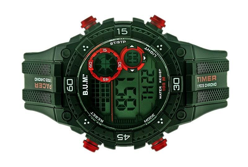 Bum Men Digital Chrono Watch BF18502