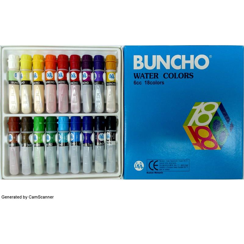 Buncho Water Colour 18c 6cc