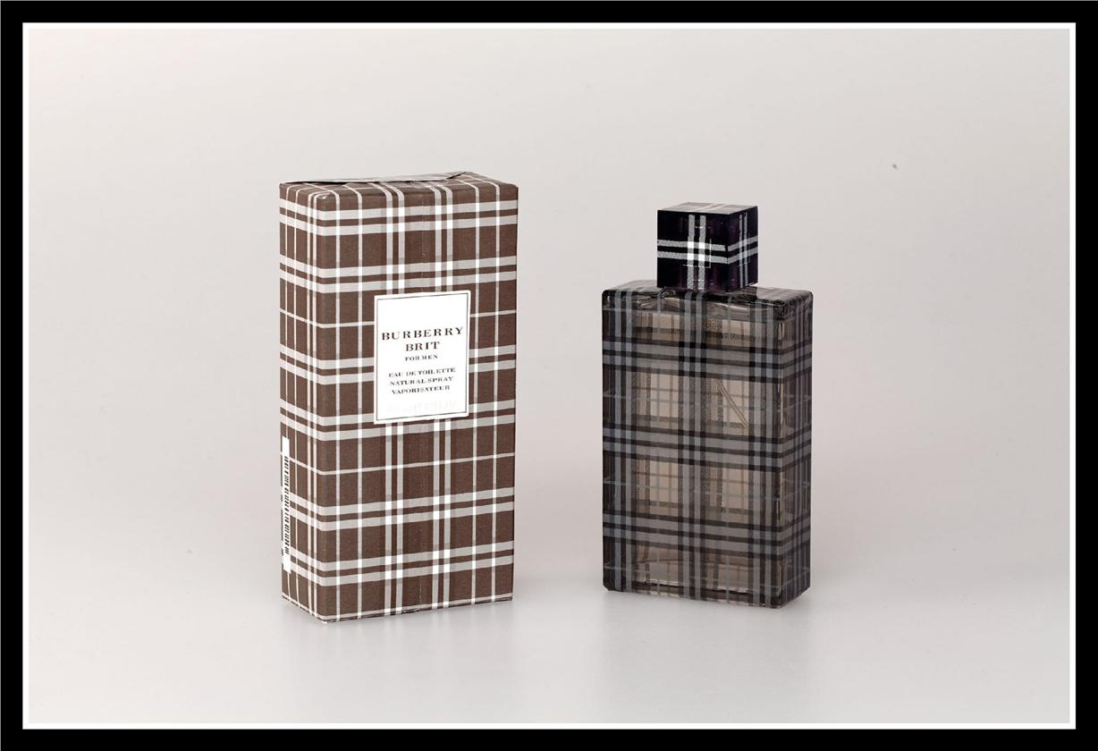 BURBERRY BRIT FOR MEN BLACK EDT 100ML