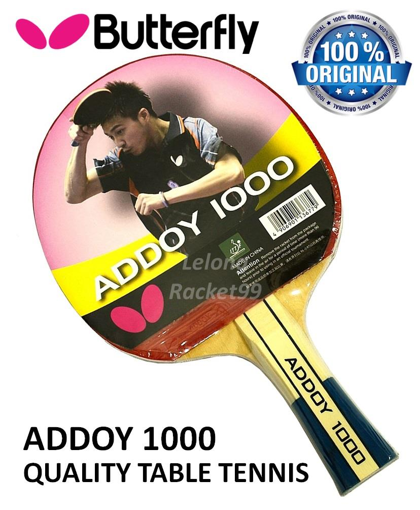 Butterfly Addoy 1000 Shakehand Table Tennis Racket@