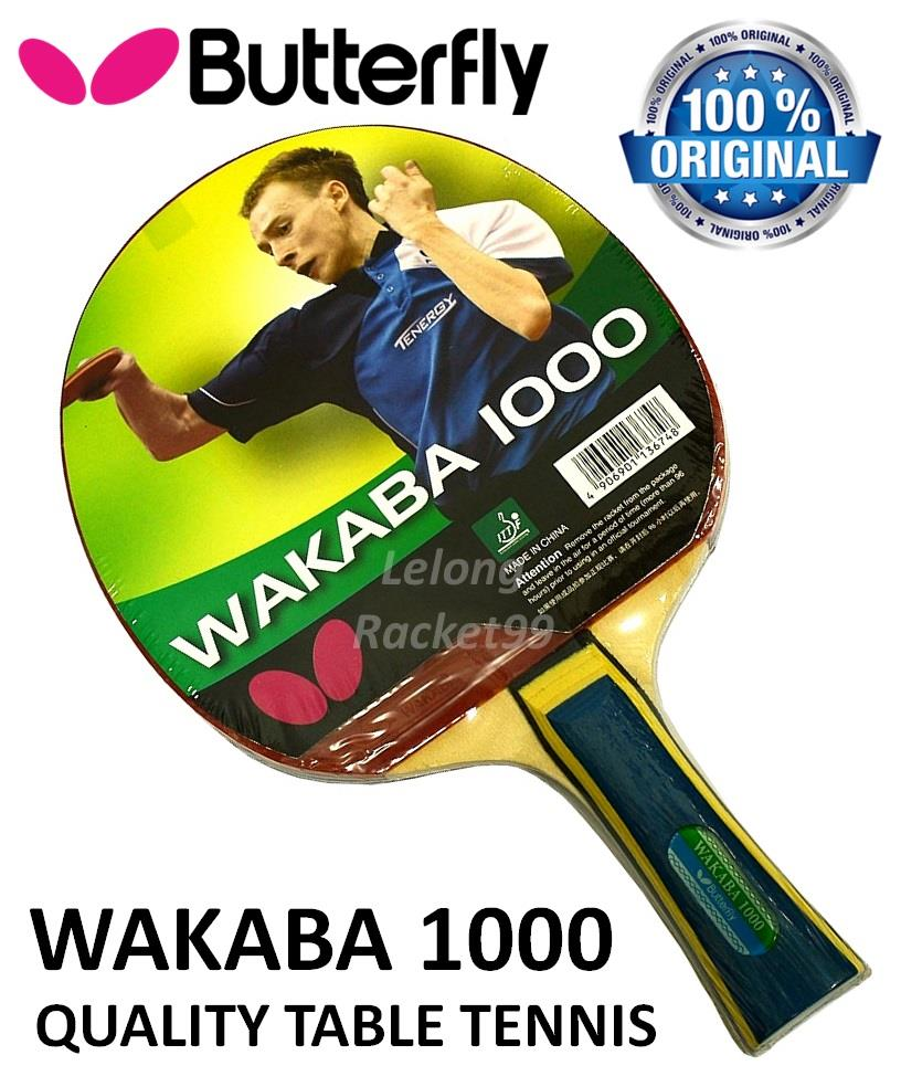 Butterfly Wakaba 1000 Shakehand Table Tennis Racket@