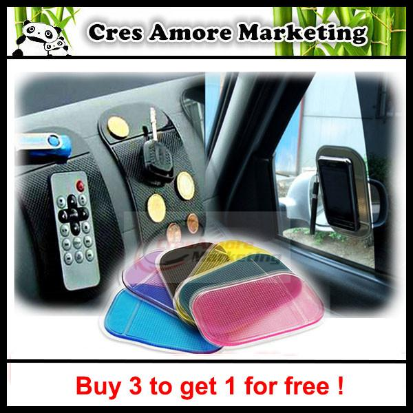 Buy 3 free 1 ! Car sticky pad Anti-Slip Mat