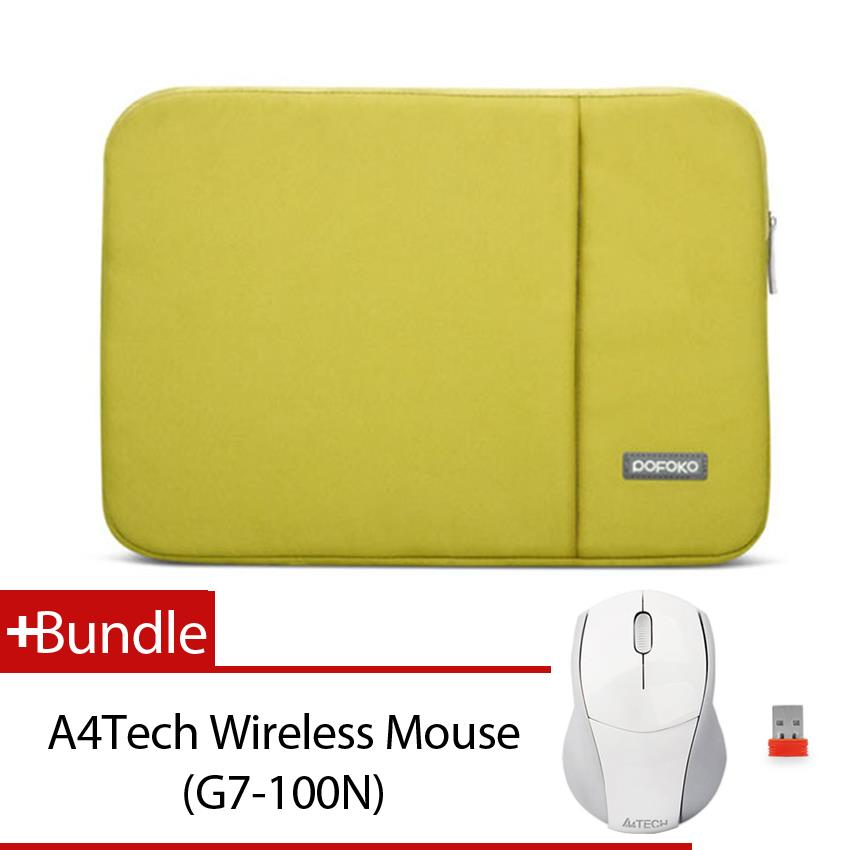 Value Buy! POFOKO Oscar Series Laptop Sleeve+ Wireless Mouse