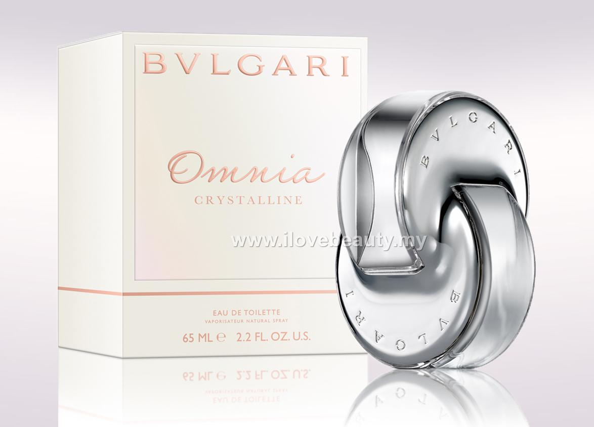 BVLGARI OMNIA CRYSTALLINE - WOMEN EDT 65ml *** ORIGINAL PERFUME ***