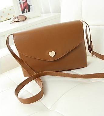 C134-Brown Sling Bag, Baguette Bag, S (end 7/1/2018 1:15 PM)