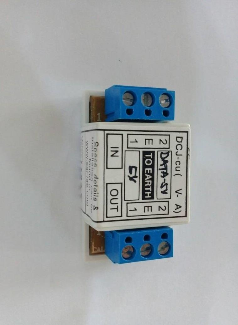 CAL-LAB DCJ-cu(Data-5V) RS485 lightning isolator Protector