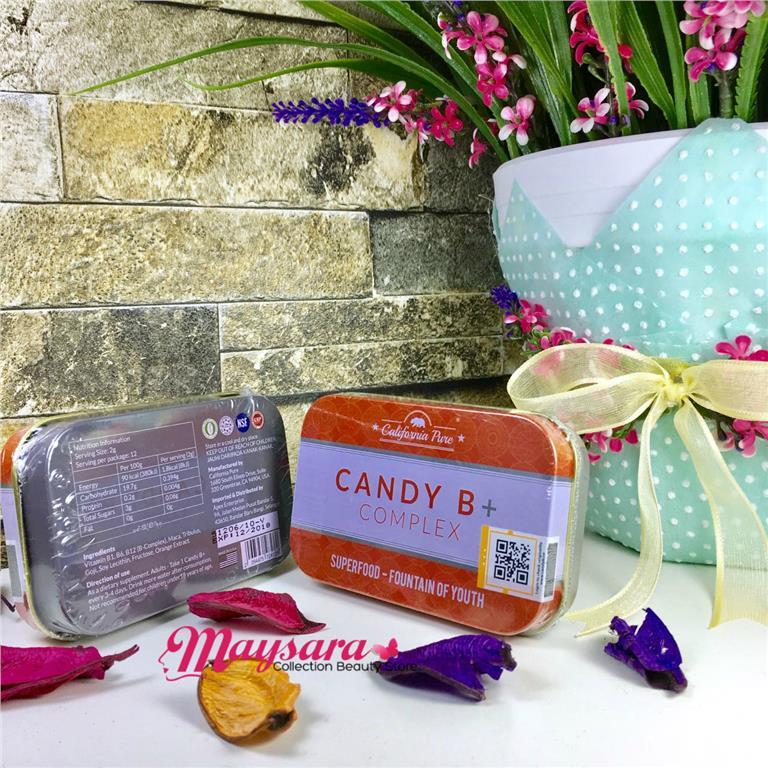 Candy B + Complex ~ Original with QR Code