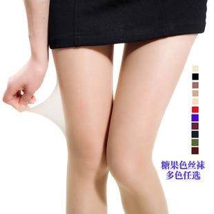New~Candy Color Thin 8D Sexy Pantyhose
