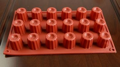 Canelés Silicone Baking Mould