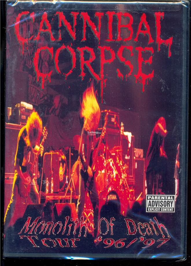 Cannibal Corpse - Monolith Of Death - New Live DVD