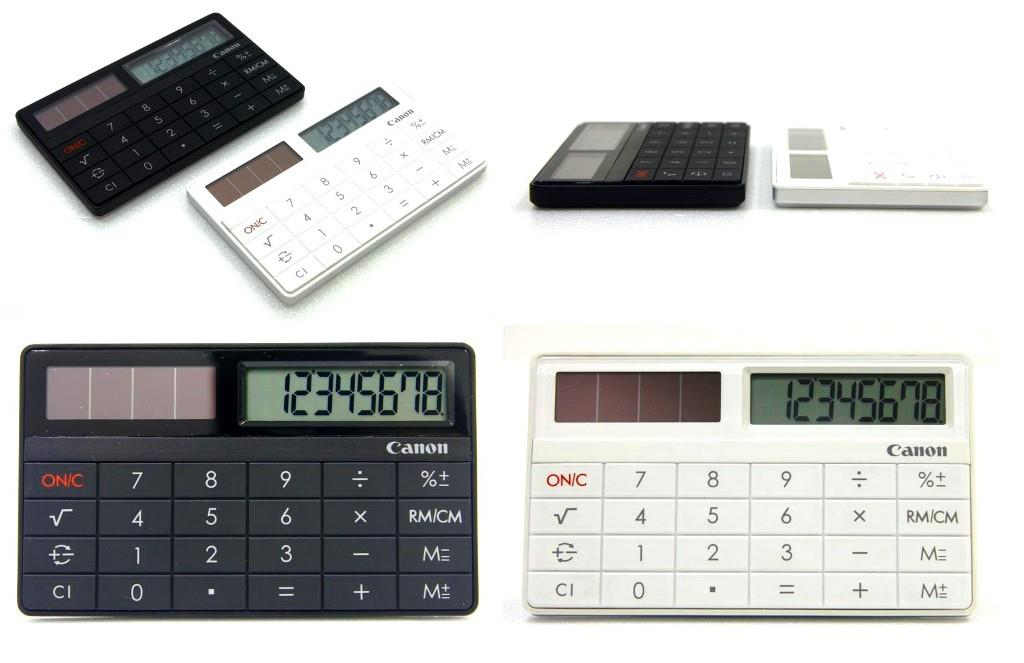 Canon Calculator X Mark I Card credit card size calculator