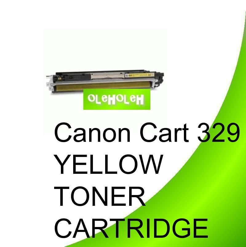 Canon Cart 329 Compatible Yellow Toner For Canon LBP7010 LBP7018c