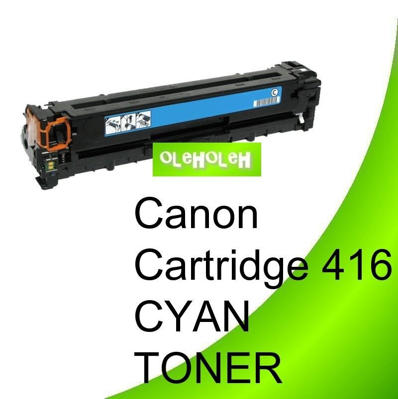 Canon Cartridge 416 Compatible Cyan Toner MF8030CN MF8050CN