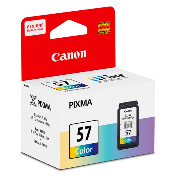 Canon Color Ink Cartridge, CL-57