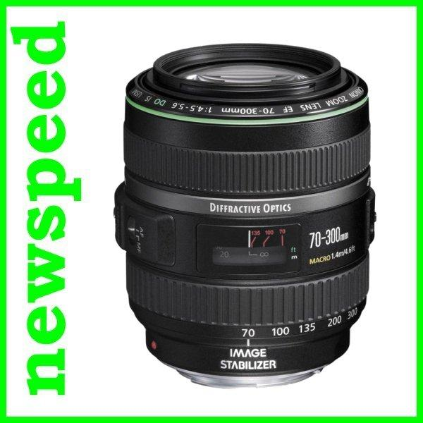 New Canon EF 70-300mm F4.5-5.6 DO IS USM Lens (Import)