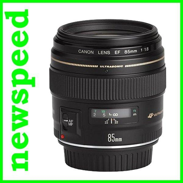 New Canon EF 85mm F1.8 USM EF85mm Lens (Import)
