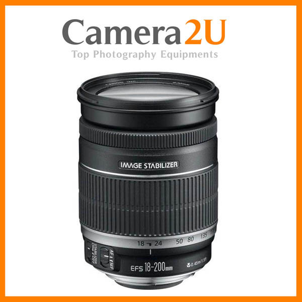 NEW Canon EF-S 18-200mm F3.5-5.6 IS Lens