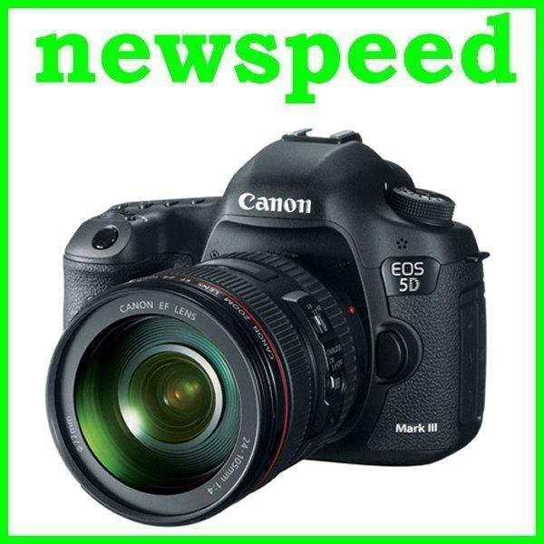 Canon EOS 5D MK Mark 3 III + 24-105mm F4L Lens New