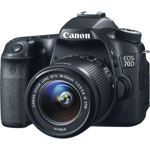 CANON EOS 70D 18-55MM STM 8GB+BAG CANON MALAYSIA