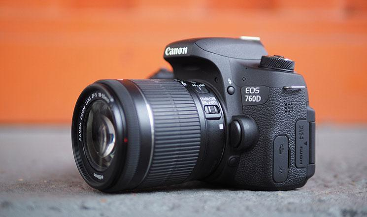 CANON EOS 760D 18-55MM STM 8GB+BAG CANON MALAYSIA