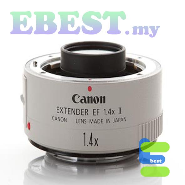 Canon Extender EF1.4X II Tele Photo Zoom Free Shipping