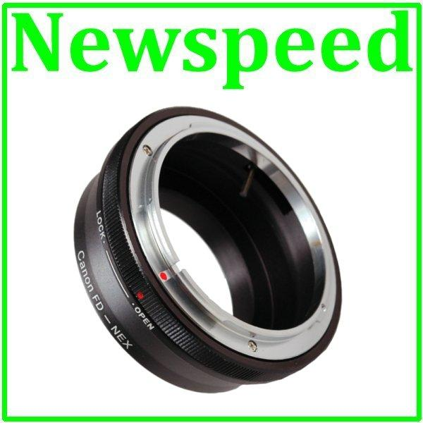 New Canon FD Lens to SONY E Mount NEX Camera Body Adapter