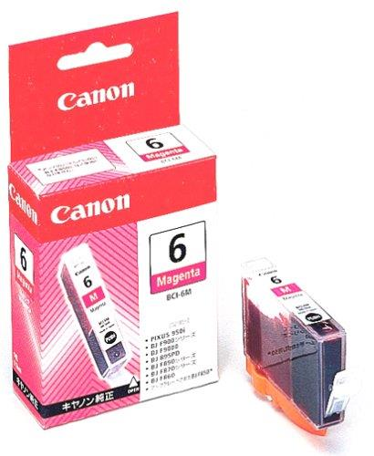 Canon Genuine Printer Ink Cartridge BCI-6 Magenta