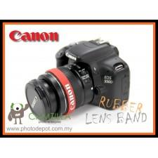 CANON Logo Silicone Rubber Lens Band , Flash Band , Wrist Band