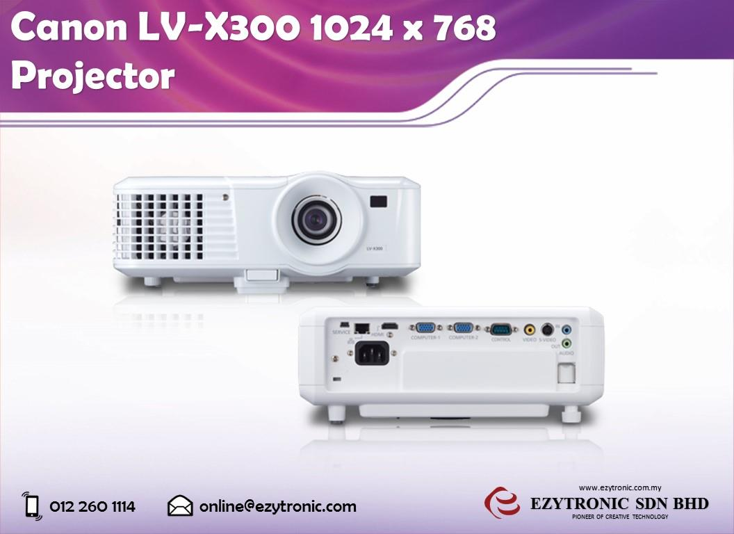 Canon LV-X300 1024 x 768 Projector