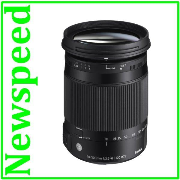 Canon Mount Sigma 18-300mm F3.5-6.3 DC MACRO OS HSM (C) Lens (MSIA)