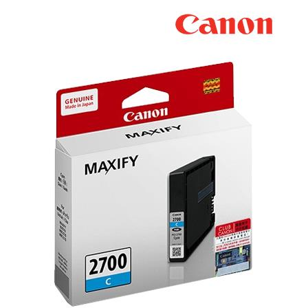 CANON PGI-2700C CYAN INK CARTRIDGE PGI2700 2700 5370 5070 4070