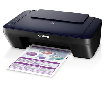 Canon PIXMA E410 Print/Scan/Copy AIO Color Printer
