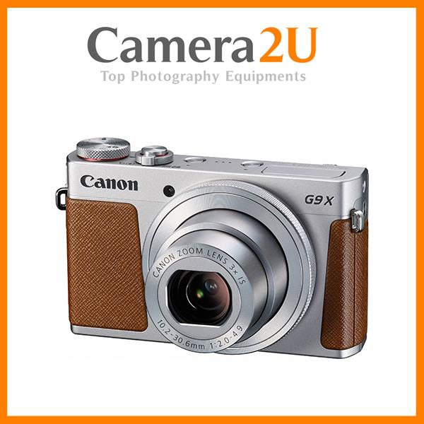 NEW Canon Powershot G9 X (Silver) + 32GB + Case