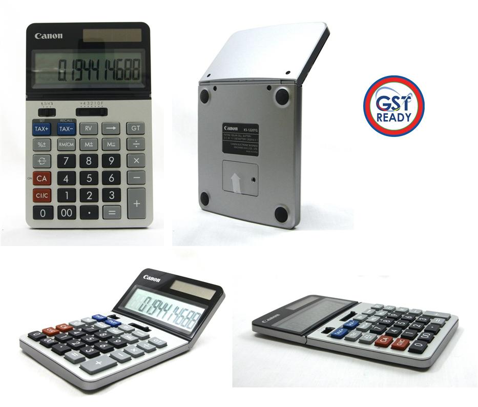 Canon Professional Taxed Calculator 12 Digits
