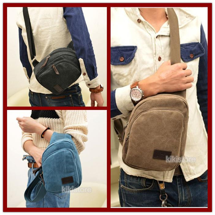 Canvas S Shoulder Pouch Trav (end 9/18/2018 10:19 AM - MYT )