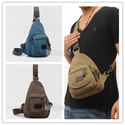 Canvas Shoulder Pouch Crossbody Mess (end 2/22/2018 6:13 PM)
