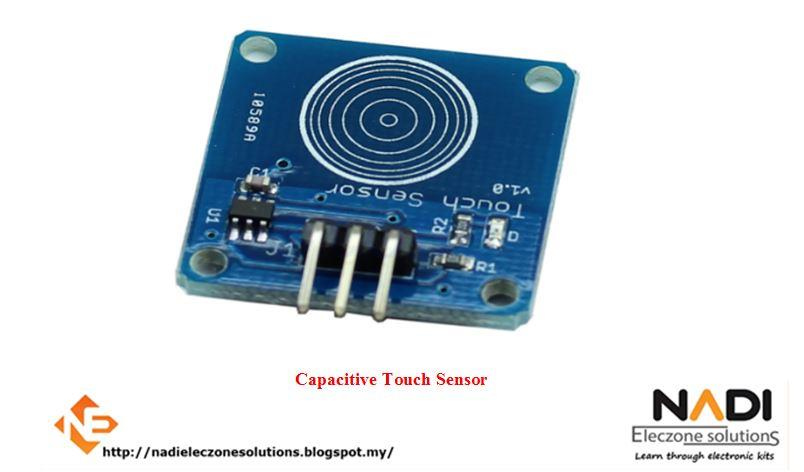 CAPACITIVE TOUCH SENSOR - ARDUINO UNO COMPATIBLE