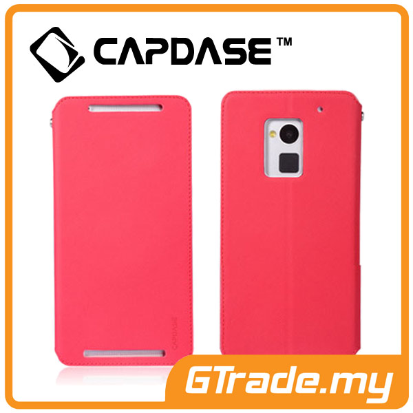 CAPDASE Folder Case Sider Baco | HTC One Max - Red