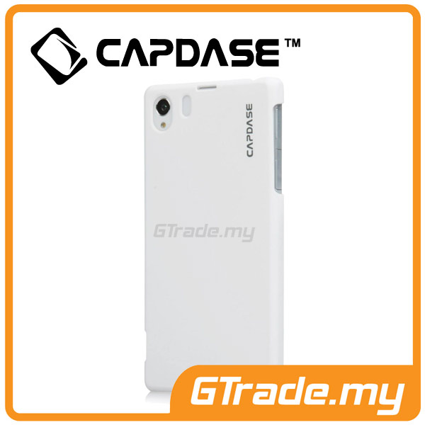 CAPDASE Karapace Jacket Case Touch | Sony Xperia Z1 - White