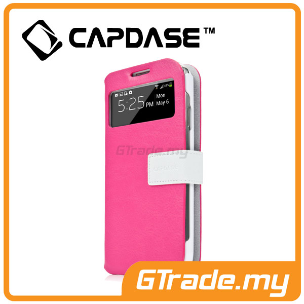 CAPDASE Smart Folder Case Sider id-Belt | Samsung Galaxy S4 - Pink