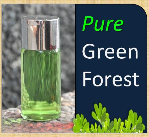 Car Air Freshener (Pure Green Forest) Auto Deodorizer Perfume