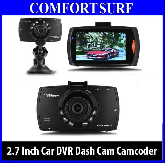 Car DVR Camera Dash Cam Video 2.7 LCD Car Cam Recorder