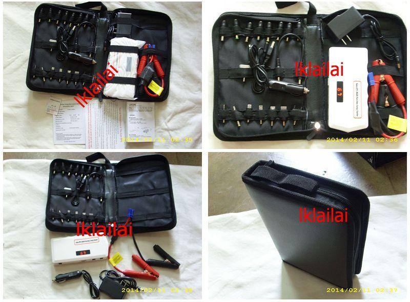 Car Emergency Jump Starter Multifunction Portable Power Bank 14000 MAh