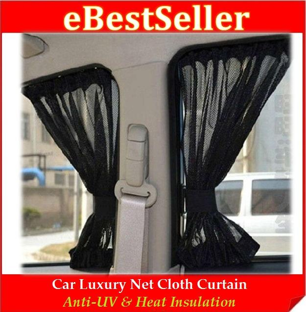 Car Luxury Sun Shade Net Cloth Curtai (end 7/6/2018 3:15 AM)