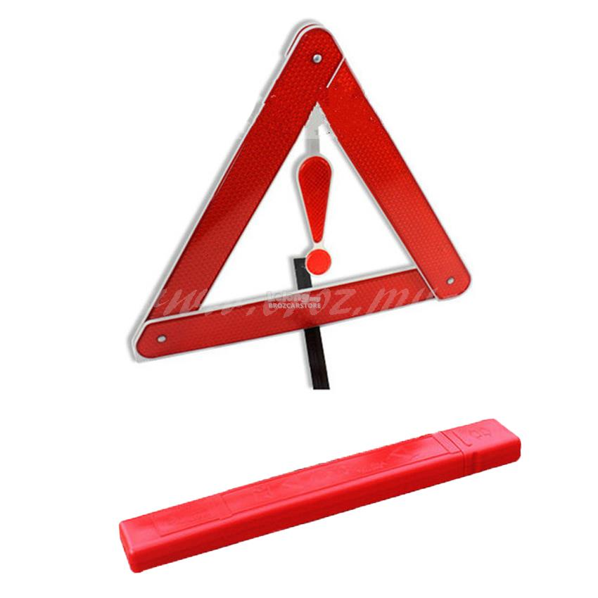 Car PVC Reflective emergency tripod Parking warning ReflectiveTriangle