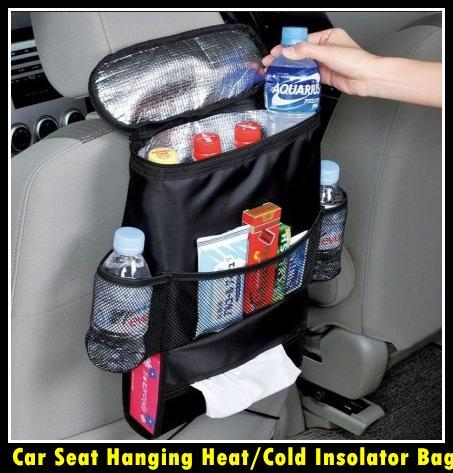 Car Seat Hanging Heat/Cold Insolator Bag