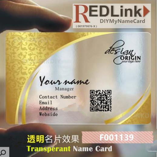 Name Card DIY Business F001139