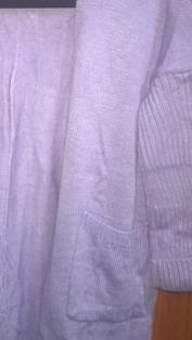 Cardigan Purple Color Tops Korean Style