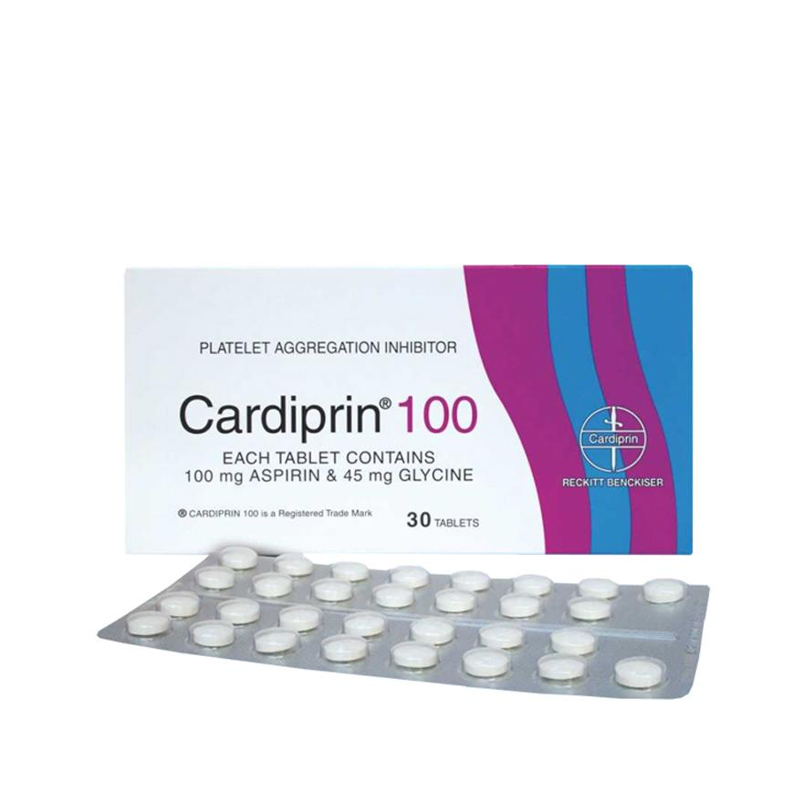 CARDIPRIN ASPIRIN 100MG 90S (PREVENT HEART BLOCKAGE)