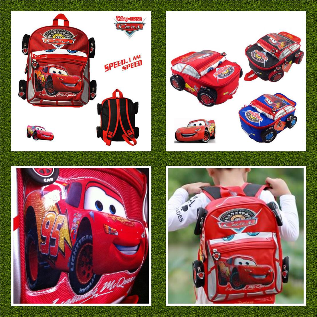 CARS LIGHTNING MCQUEEN SCHOOL BAG PACK